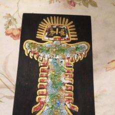 Arte: ANTIGUO CUADRO / CUADRITO RELIGIOSO DE LA VIRGEN Y EL NIÑO JESÚS AÑOS 40-50. Lote 140449010