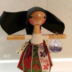 Arte: MUÑECA DE MADERA CHECA. Lote 112750127