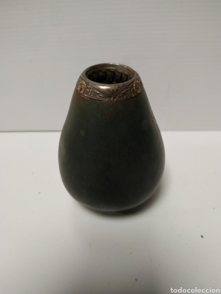Arte: Recipiente hecho con calabaza tallado a mano - Foto 2 - 142160092