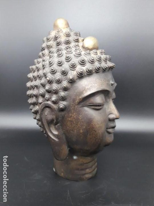 Arte: Cabeza de bronce - Foto 2 - 194264036