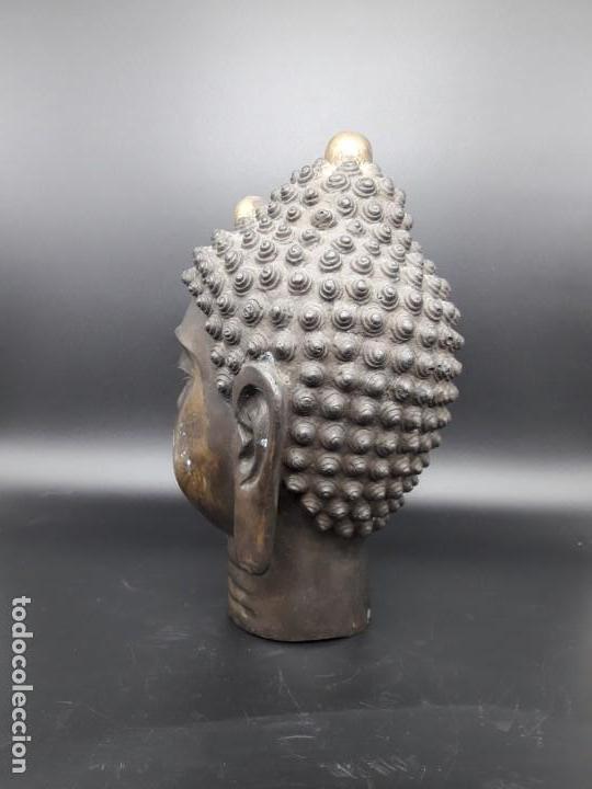 Arte: Cabeza de bronce - Foto 4 - 194264036