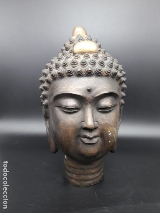 CABEZA DE BRONCE (Arte - Étnico - Asia)