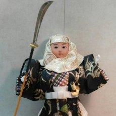 Arte: FIGURA DE JAPONES SAMURAI. Lote 142207498