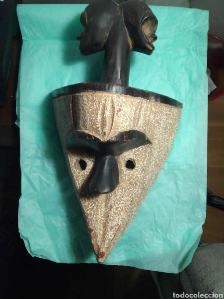 MASCARA ÉTNICA AFRICANA. (Arte - Étnico - África)
