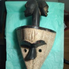 Arte: MASCARA ÉTNICA AFRICANA.. Lote 143084465