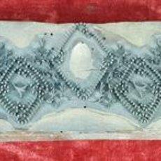 Arte: TAMPON BATIK PARA EL ESTAMPADO DE TEJIDOS. MADERA Y METAL. INDIA. SIGLO XIX-XX.. Lote 144326538