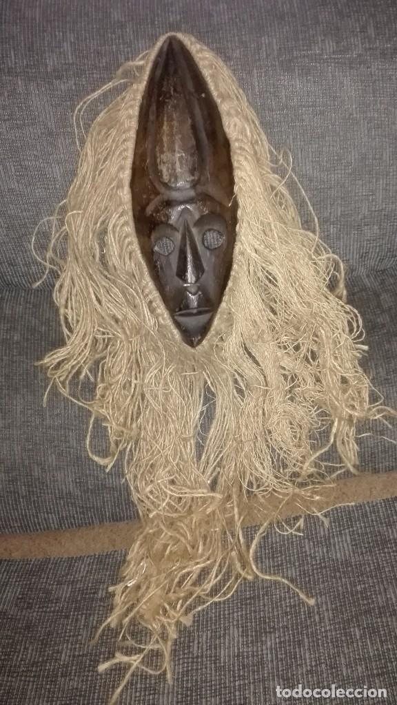 ESPECTACULAR MASCARA AFRICANA (Arte - Étnico - África)
