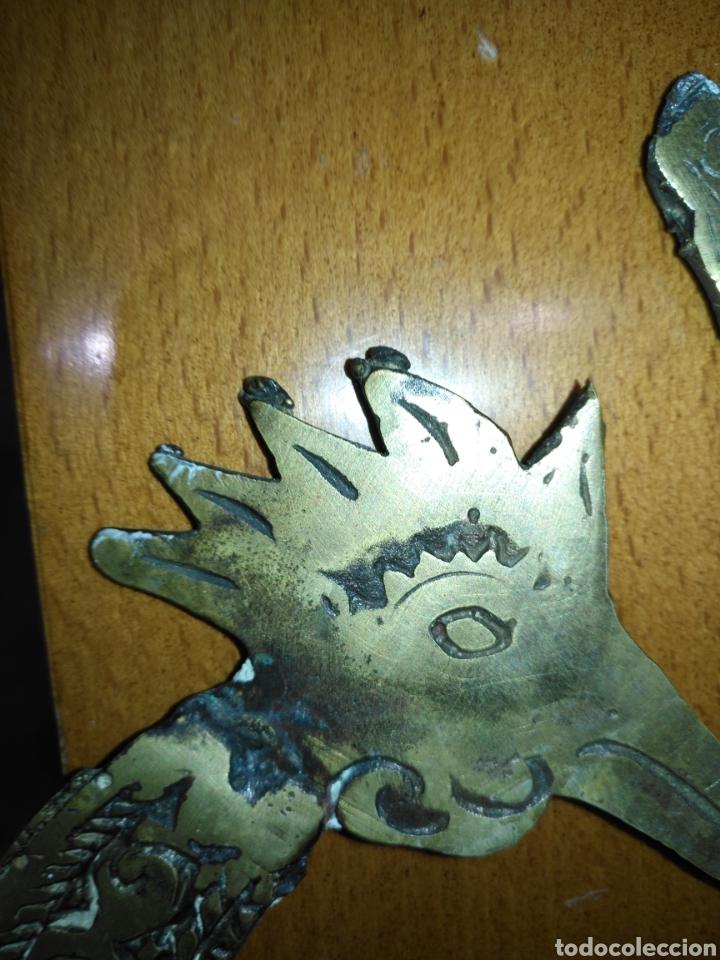 Arte: Mascara etnica bronce. Perfecto estado. - Foto 13 - 145330169