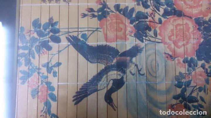 Arte: Acuarela china firmada 23x12. Con marco 35x25 - Foto 4 - 145337858