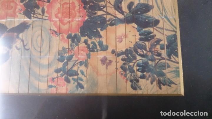 Arte: Acuarela china firmada 23x12. Con marco 35x25 - Foto 5 - 145337858