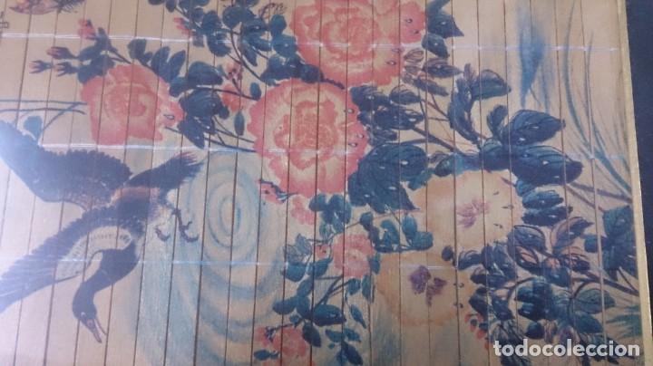 Arte: Acuarela china firmada 23x12. Con marco 35x25 - Foto 6 - 145337858