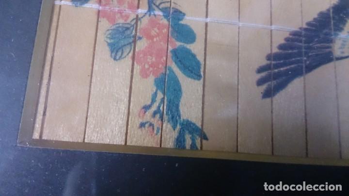 Arte: Acuarela china firmada 23x12. Con marco 35x25 - Foto 7 - 145337858