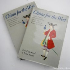Arte: CHINA FOR THE WEST, CHINESE PORCELAIN, 1978, DAVID HOWARD, 2 TOMOS, LONDON. 25,5X33,5CM. Lote 145577998