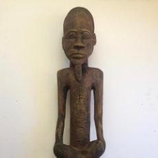 Arte: TALLA AFRICANA EN MADERA . 72 CM.. Lote 145594138