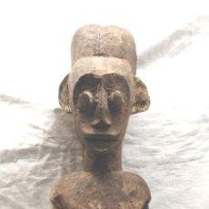 Arte: ESCULTURA TALLA MADERA AFRICA. MED. 58 CM. Lote 146323998