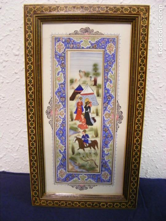 MINIATURA INDIA (Arte - Étnico - Asia)