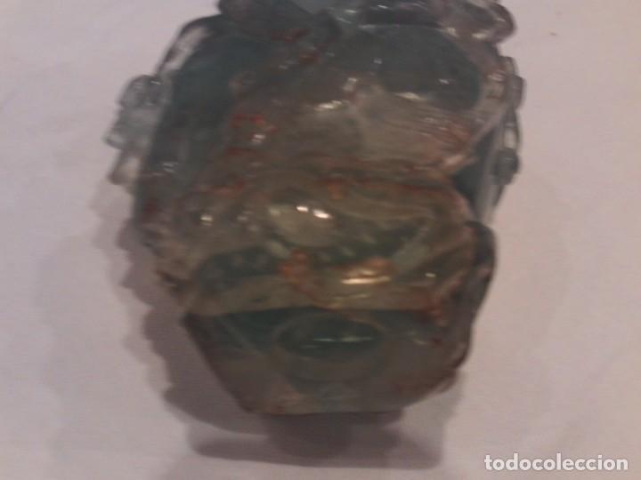 Arte: botella en jade o fluorita perfumero buen tamaño 15cm altura,antiguo trabajo chino - Foto 5 - 146422266