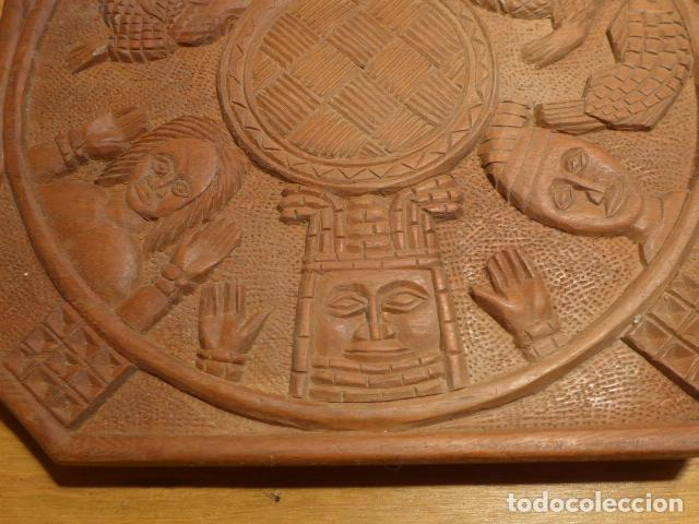 Arte: Antigua escultura de madera tallada africana, de Benin, original, de tribu de Africa. - Foto 2 - 147658866