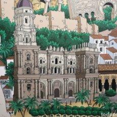 Arte: ANDALUCÍA MEDITERRÁNEA: MÁLAGA, GRANADA, ALMERÍA, JAEN. CUADRO COMIC COLLAGE . ARTE MODERNO. Lote 148939790