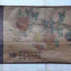 Arte: PINTURA CHINA ROLLO PARED. PRIMERA MITAD SIGLO XX. Lote 149528914