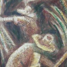 Arte: ACRÍLICO SOBRE TABLEX CUBA. Lote 150543562
