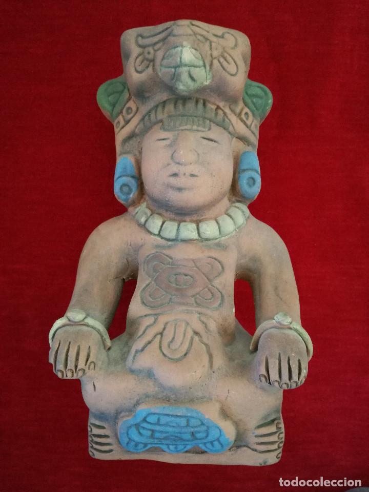 FIGURA MAYA DE TERRACOTA (Arte - Étnico - América)