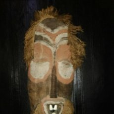 Arte: RARA MASCARA AFRICANA. TIBRU HIMBA.NAMIBIA. RITUALES.MAGIA. CEREMONIAS.. Lote 151263916