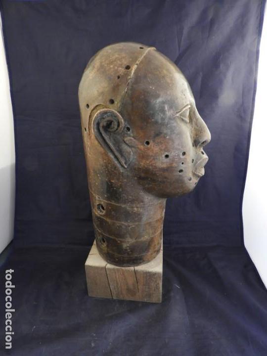 Arte: MAGNIFICA CABEZA IFE EN BRONCE DE BENIM - Foto 7 - 151541778