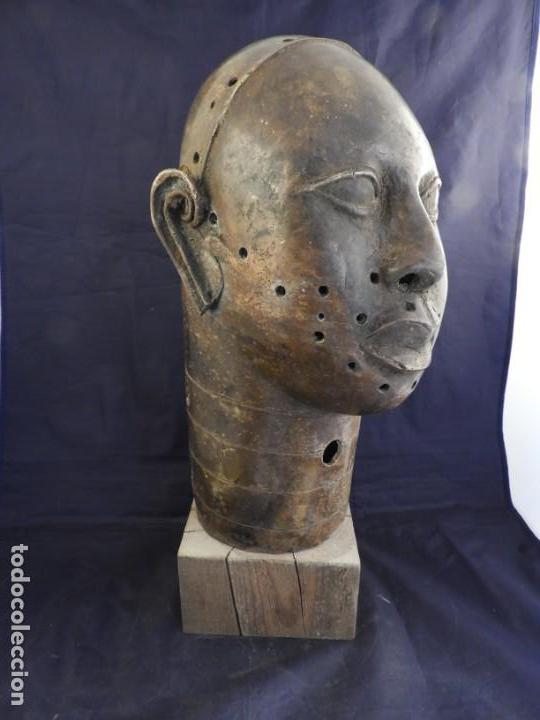 Arte: MAGNIFICA CABEZA IFE EN BRONCE DE BENIM - Foto 8 - 151541778