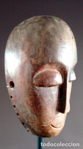 MÁSCARA AFRICANA TRIBU LEGA (CONGO) (Arte - Étnico - África)