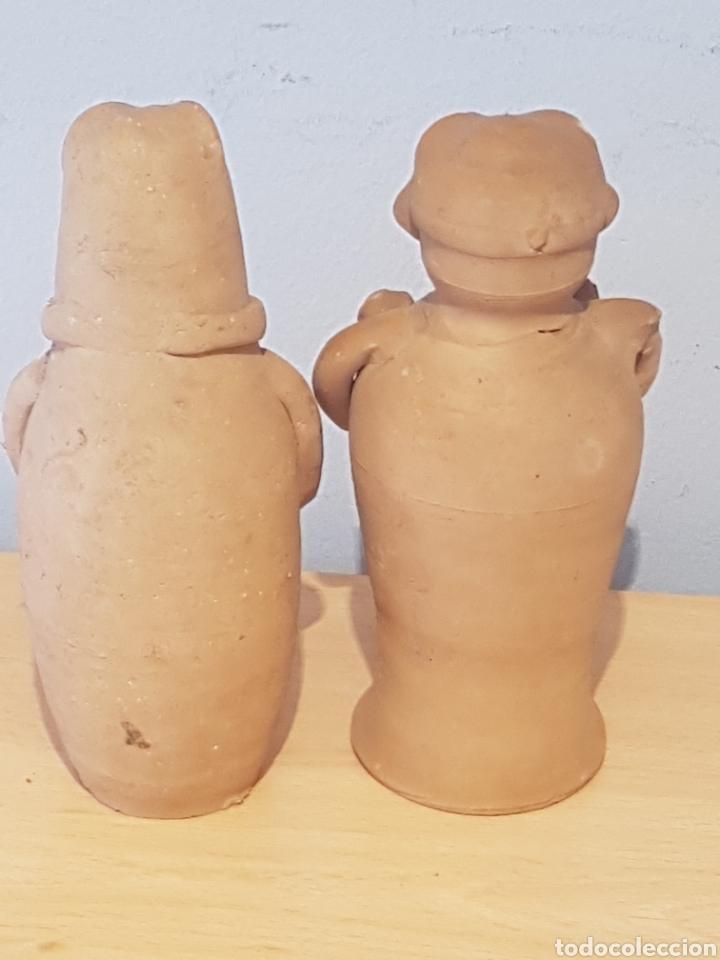 Arte: Figuras de cerámica Ibiza Cultura Púnica hombre y mujer - Foto 8 - 151614016