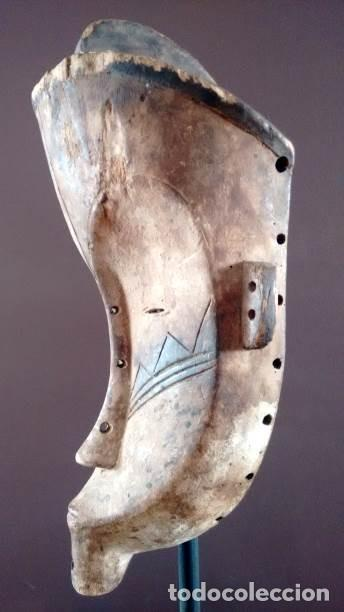 Arte: Máscara Fang (Guínea Ecuatorial) - Foto 3 - 151615986