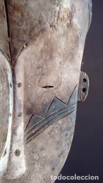 Arte: Máscara Fang (Guínea Ecuatorial) - Foto 5 - 151615986