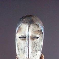 Arte: MÁSCARA BARBUDA TRIBU LEGA (CONGO). Lote 151619382