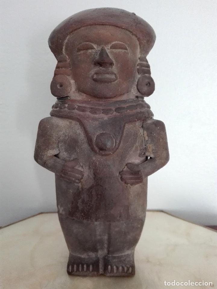 FIGURA INCA DE TERRACOTA (Arte - Étnico - América)