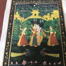 Arte: SEDA PINTADA INDIA. Lote 151719432