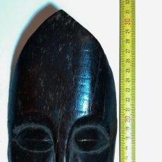 Arte: ETNOGRAFÍA AFRICANA. MÁSCARA. AMULETO AFRICANO TALLADO EN HUESO.. Lote 152022170