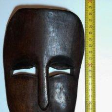 Arte: ETNOGRAFÍA AFRICANA. MÁSCARA. AMULETO AFRICANO TALLADO EN HUESO.. Lote 152022586