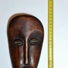 Arte: ETNOGRAFÍA AFRICANA. MÁSCARA. AMULETO AFRICANO TALLADO EN HUESO.. Lote 152022978
