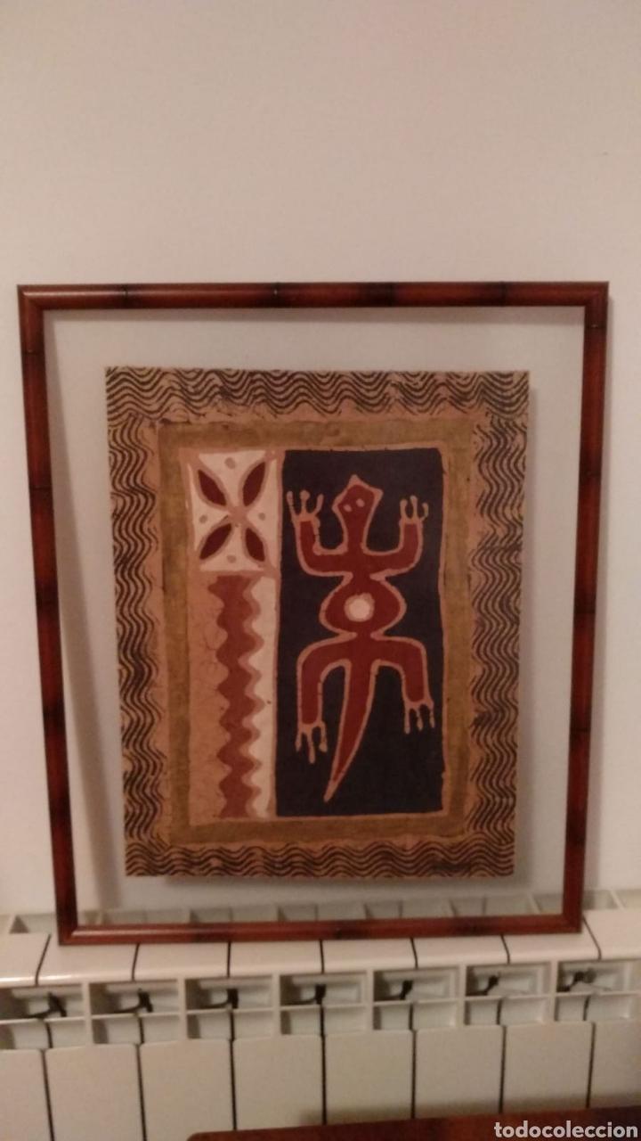 Arte: Tela artesana original de Zimbabwe - Foto 2 - 152139561
