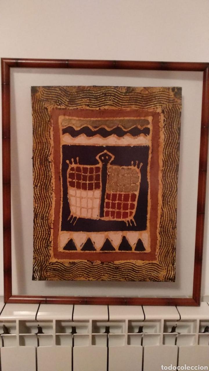 TELA ARTESANA ORIGINAL DE ZIMBABWE (Arte - Étnico - África)