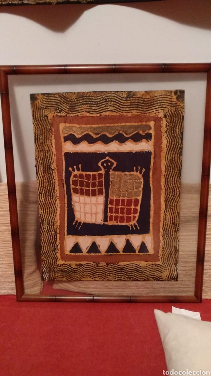 Arte: Tela artesana original de Zimbabwe - Foto 2 - 152140074