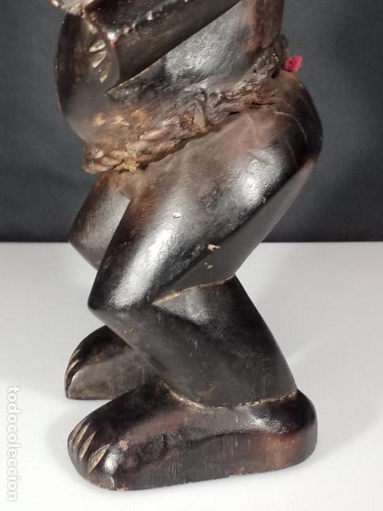 Arte: ESCULTURA FEMENINA. CULTURA TEKE. CONGO. MEDIADOS SIGLO XX. - Foto 19 - 152151742