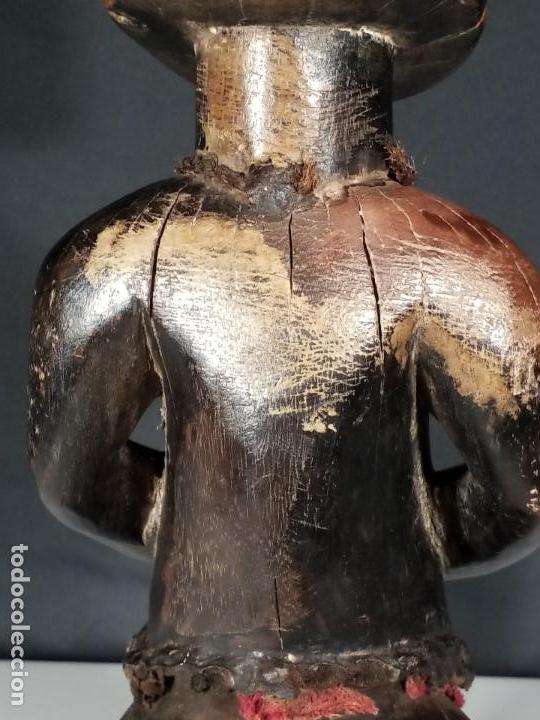 Arte: ESCULTURA FEMENINA. CULTURA TEKE. CONGO. MEDIADOS SIGLO XX. - Foto 21 - 152151742