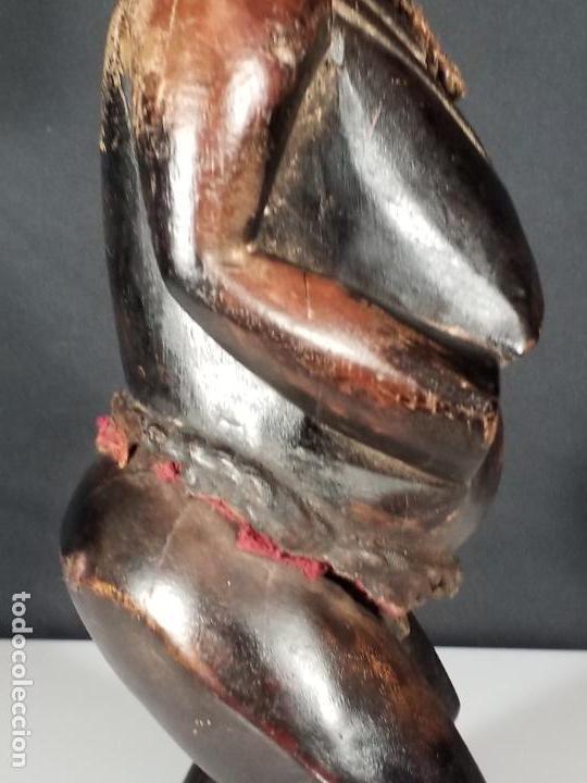 Arte: ESCULTURA FEMENINA. CULTURA TEKE. CONGO. MEDIADOS SIGLO XX. - Foto 24 - 152151742