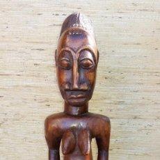 Arte: FIGURA AFRICANA BAULE. Lote 152455722