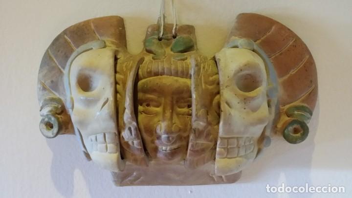 MÁSCARA AZTECA (Arte - Étnico - América)