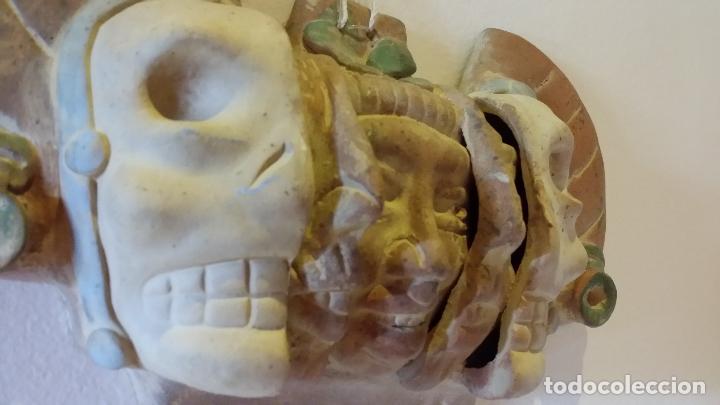 Arte: Máscara azteca - Foto 2 - 152872666