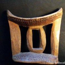 Arte: AUTENTICO REPOSACABEZAS ETIOPIA - ARTE AFRICANO. Lote 153577158