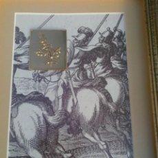 Arte: ESLOVENIA CUADRO CON GRÁFICO Y GRABADO DE RAMA DE OLIVO MINISTRY OF DEFENCE JANEZ VAJKARD VALVAZOR. Lote 154109150